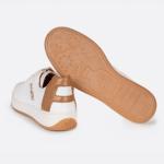 Baskets vegan et ecoresponsables conçues à partir de bouteilles en plastique recyclées - Aqte2 - Berlin Crema